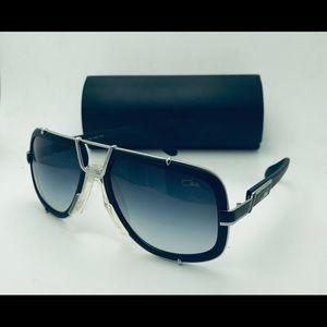 Cazal Men's sunglasses matte black silver 656/3